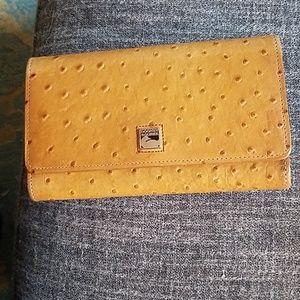 Dooney & Bourke Ostrich Wallet